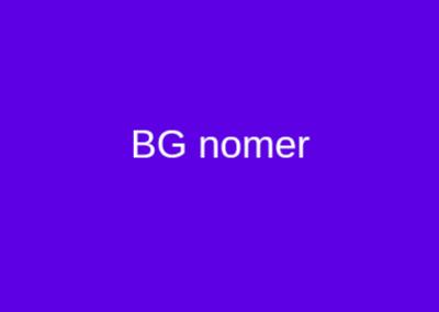 BG Nomer