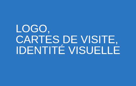 LOGO, CARTES DE VISITE, IDENTITÉ VISUELLE